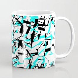 Techno Plaid Coffee Mug