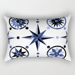 Nautica Blue Rectangular Pillow