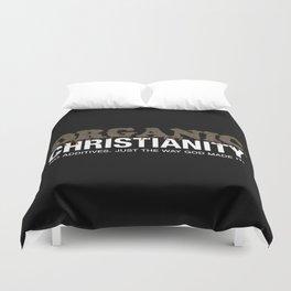 Organic Christianity Duvet Cover