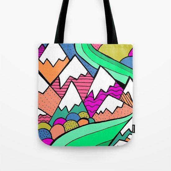 Catscape Tote Bag