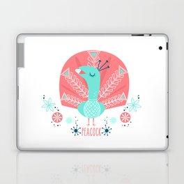 Scandi Peacock Laptop & iPad Skin