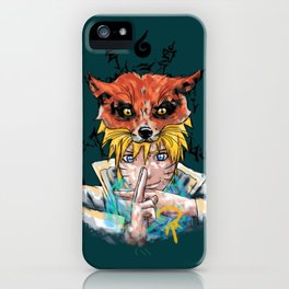 Naruto Abstract iPhone Case