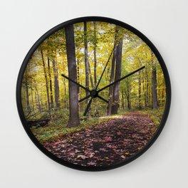A walk down the Path Wall Clock