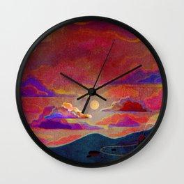 alone house Wall Clock