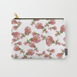 Pretty Vintage Florals Carry-All Pouch