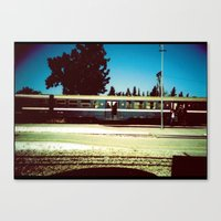 train Canvas Prints featuring Train by Ibbanez