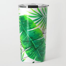 Palm Tree Living Travel Mug