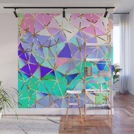 Rainbow Geometric pattern #6 Wall Mural