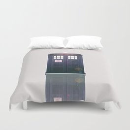 Tardis Shine Shadow Duvet Cover