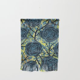 Black and Blue Wall Hanging
