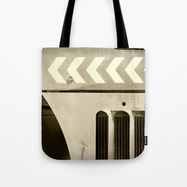 Road Roller Chevron 05 - Industrial Abstract Tote Bag