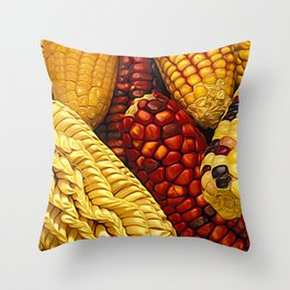 Amazing Maize Throw Pillow