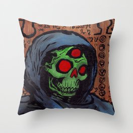 Occult Macabre Throw Pillow