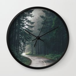 Forest Road Wall Clock