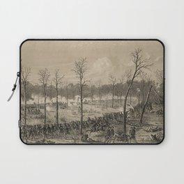 American Civil War: The Battle of Shiloh by Alfred Edward Mathews (1862) Laptop Sleeve