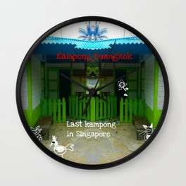 KAMPONG Wall Clock