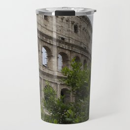 The Outside of the Coliseum Travel Mug