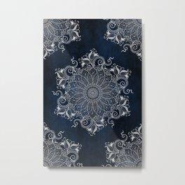 Multiple Artic Mandalas Metal Print