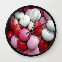 Valentine Candy Wall Clock