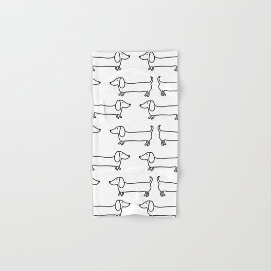 Dachshund in black-white by bigmomentsdesign