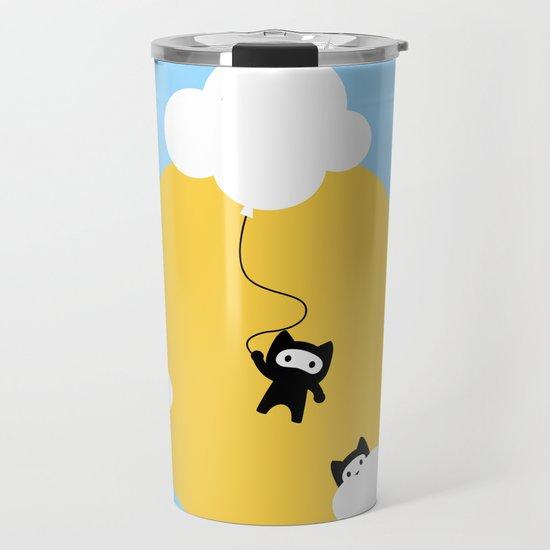 Ninja cats in the sky by eugeniaart