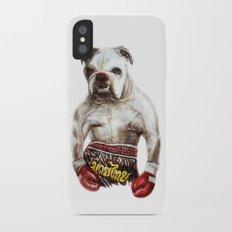 killer dog Slim Case iPhone X