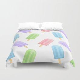 Popsicle Pattern Duvet Cover