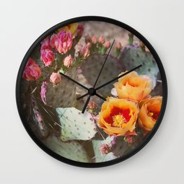 sunrise blooms Wall Clock