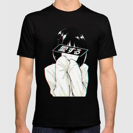 ALONE - Sad Japanese Anime Aesthetic T-shirt