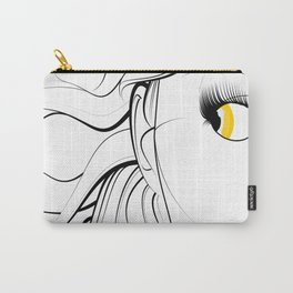 Golden Eyed Girl Carry-All Pouch