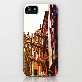 the little Macau from the LOVE ROAD iPhone Case