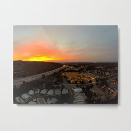 Thousand Oaks at Sunset Metal Print