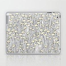 Enokitake Mushrooms (pattern) Laptop & iPad Skin