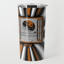 Abstract Planet  Travel Mug