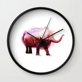 Happy Elephant Wall Clock