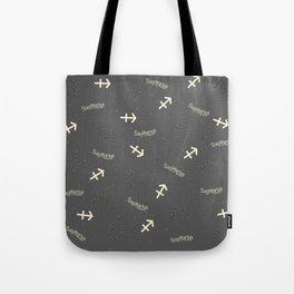 Sagittarius Pattern Tote Bag