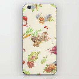 Fall Food iPhone Skin
