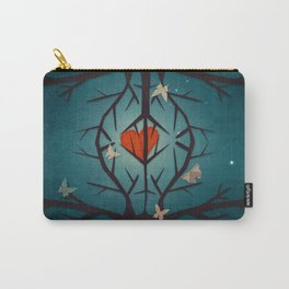 heart tree Carry-All Pouch