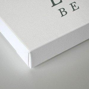 Lich (Typography) Canvas Print