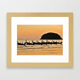 Kata Beach Framed Art Print
