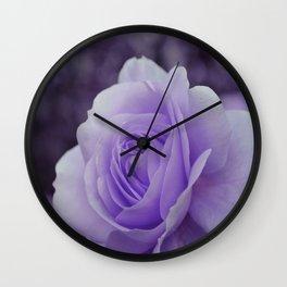 Lavender Rose 2 Wall Clock