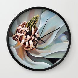Beaulah's porch 2 Wall Clock