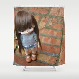 Mamiko - First look Shower Curtain