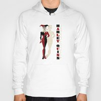harley quinn Hoodies featuring Harley Quinn by Lily's Factory