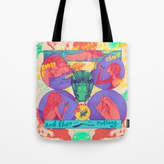 And Then Nothing. Tote Bag
