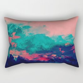 Painted Clouds IV Rectangular Pillow