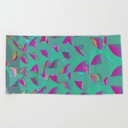 Illusion sea green yoga mats/ yoga room Beach Towel