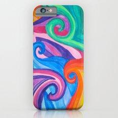 Colorful Swirls iPhone 6s Slim Case