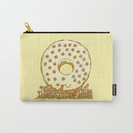 In Bloom Donut Carry-All Pouch