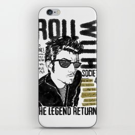 roll with it! iPhone Skin